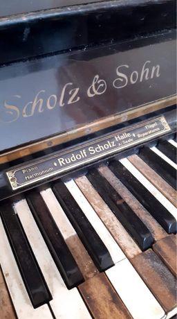 Фортепиано антикварное пианино