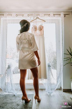 Szlafrok ślubny Panna Młoda