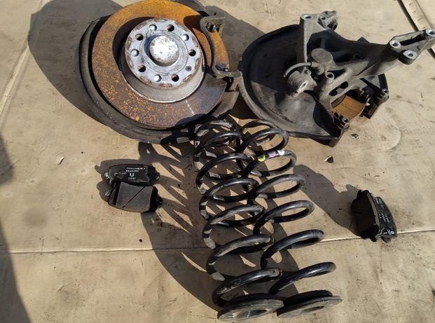 Задняя тормозной диск ступица пружина колодки скоба Пассат Б6 Седан