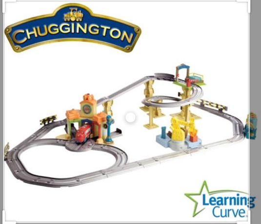 Stacyjkowo Chuggington Interactive Railway tory i ciuchcie