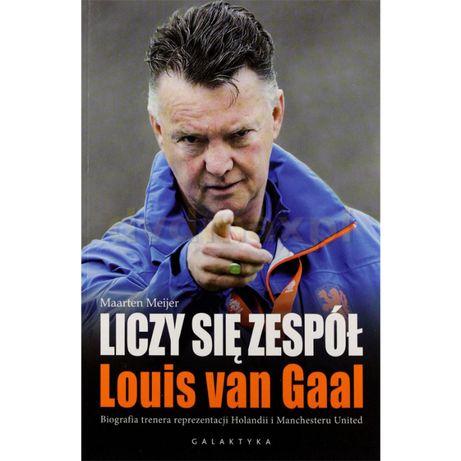 Louis Van Gaal - Liczy się zespół - książka biografia trenera