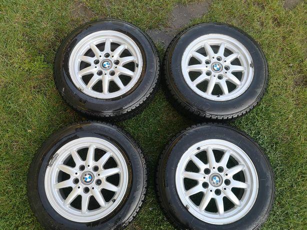 Koła BMW 15 zimowe, felgi aluminiowe, opony 195/65 R15 styling 27