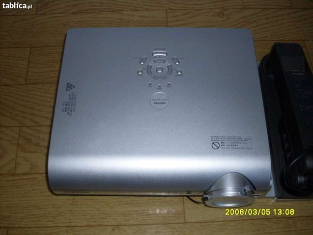 Projektor Toshiba z kamerą. Sprzedam lub zamienię.