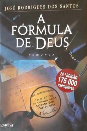 LIVRO - A Fórmula de Deus - José Rodrigues dos Santos