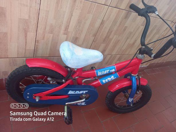 Bicicleta menino usado