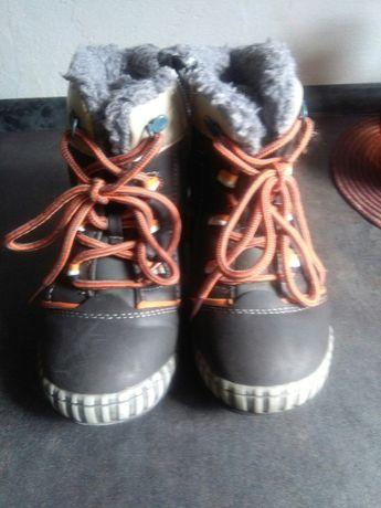 Buty zimowe dla dziewczynki rozm.25