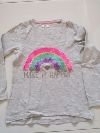 Piękna bluzeczka marki Pepco dla dziewczynki! 122 cm