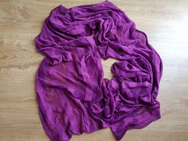 Apaszka chusta szal szalik odcienie fioletu Polecam