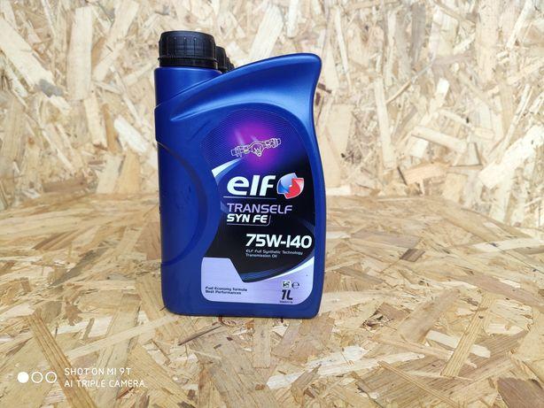 Olej Przekładniowy Elf  75w140 1L-Wyprzedaz magazynu