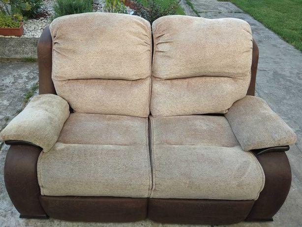 Kanapa, sofa nierozkladana dwuosobowa Idealna Angielska