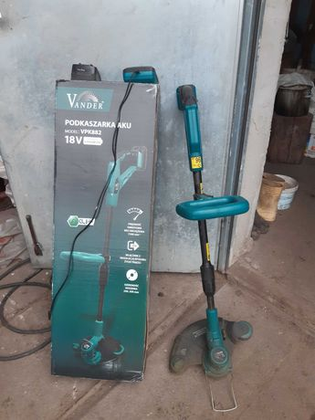 Podkaszark akumulatorowa Vander VPK 882 bateria ładowarka