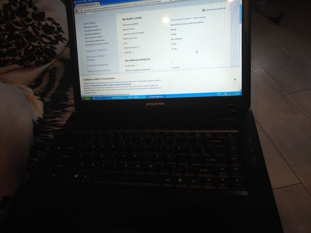 Laptop emachines E520