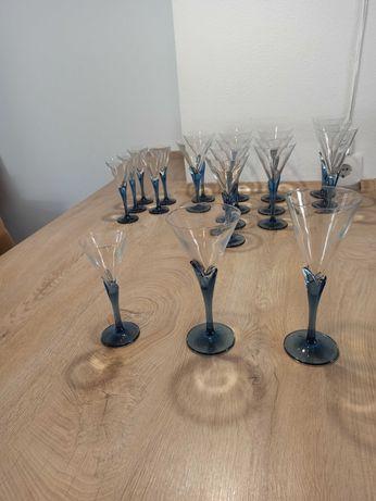 Conjunto completo copos de cristal Italiano Luigi Bormioli - 20 peças