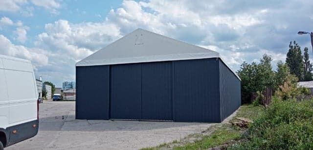 Hala namiotowa, hala magazynowa, hala, magazyn, hangar 12x20x4