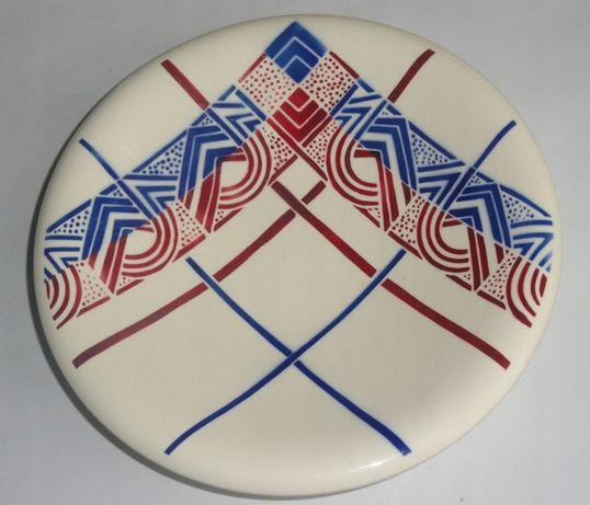 Patera półmisek Art-Deco Francja śr 25 cm