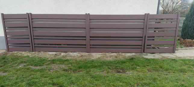 Brama skrzydłowa 4,3x1,4m