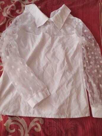 Блузочка ідеально підійде для першого класу 122-128ріст 225грн