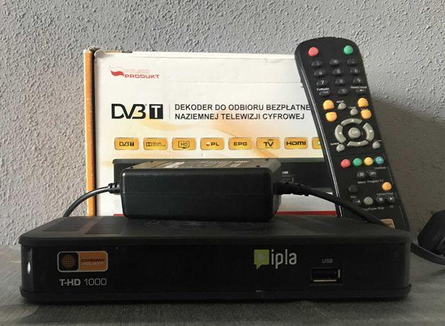 Dekoder cyfrowy Polsatu HD 1000 dvbt