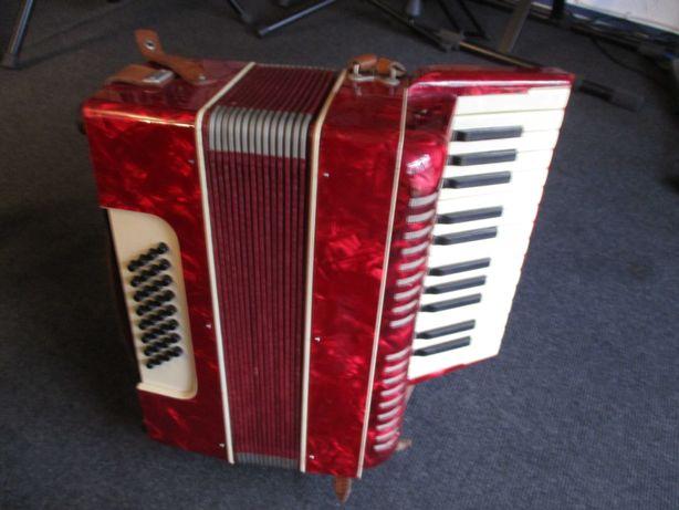Akordeon Weltmeister harmonia mała klawisz vintage 32 basy