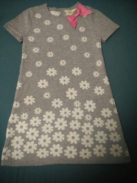 Теплое платье 4-5 лет