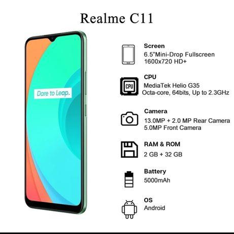 Realme C11 2gb-ram 32gb-rom novos com garantia