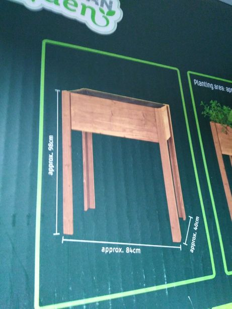 Drewniana doniczka Parkside84 x 98 x 40 na ogród balkon
