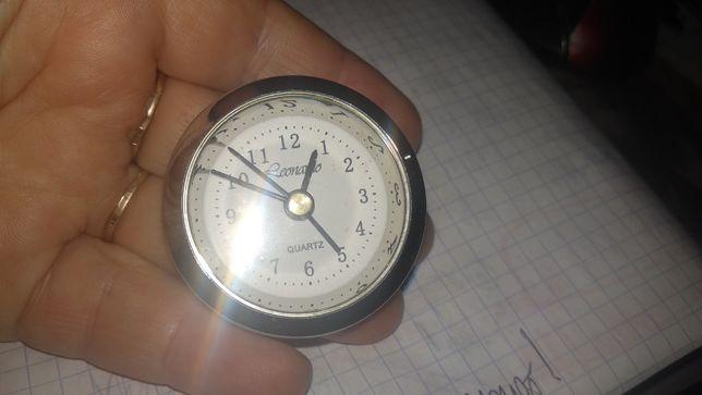 часы дорожные карманные 4.3 см Леонардо leonardo металл серебристый