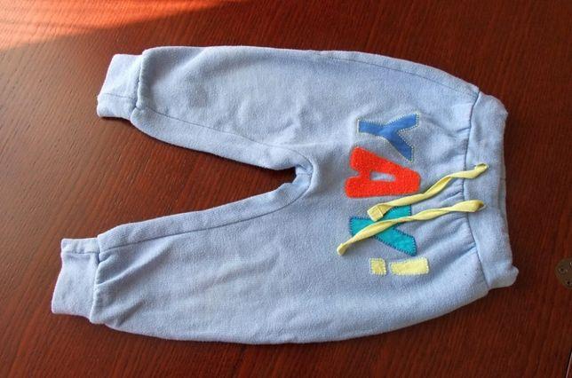 Spodnie chłopięce 5 10 15 r. 80