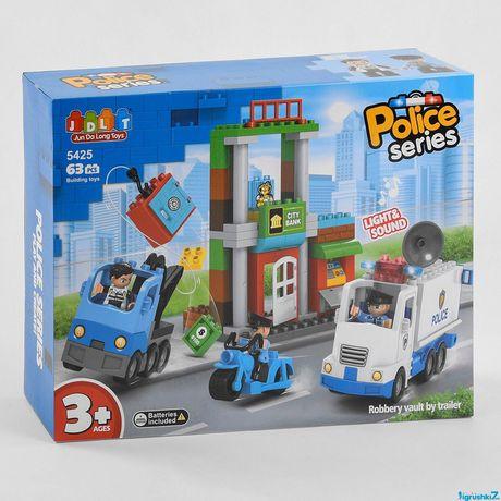 Конструктор пластиковый JDLT 5425 Полиция