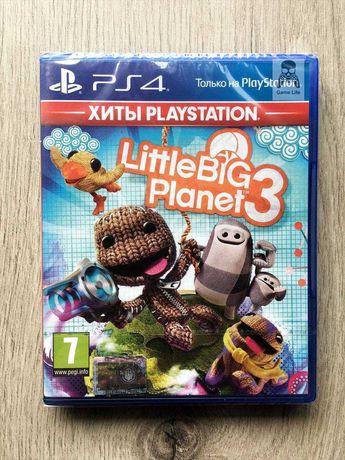 LittleBigPlanet 3 (новый) (русская версия) PS4/PS5
