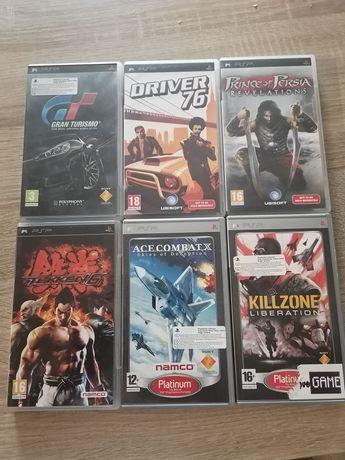 6 gier na PSP plus gratis