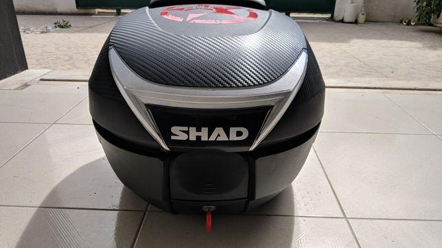Top Case Shad SH 34 + Forro interior + Encosto