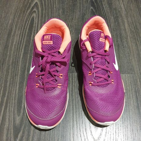 Nike Flex TR 5 Cor roxo e laranja