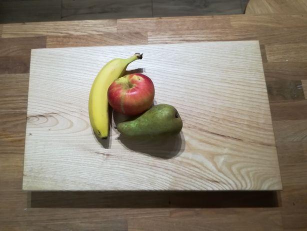 Piękna deska do kuchni jesion.