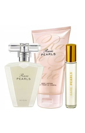 Zestaw Rare Pearls , katalog oraz próbki kosmetyków gratis