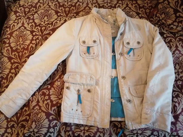 Куртка демисезонная серая