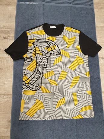 Tshirt versace collection roz L nowa.