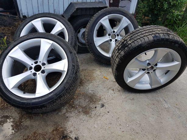Opony letnie nowe + felgi BMW X5 2008r 275/40/R20, 315/35/R20