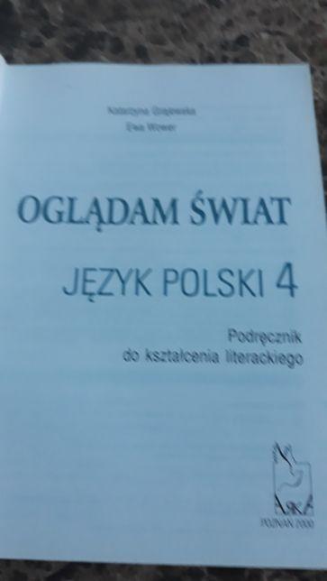 Jezyk polski podrecznik kl.4 wyd.Arka