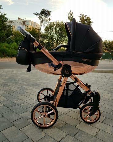 Нова дитяча коляска універсальна 2 в 1 BabyActive Mommy Glossy