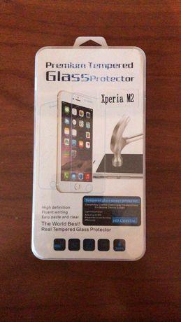 Película de vidro para telemóvel Sony Xperia M2