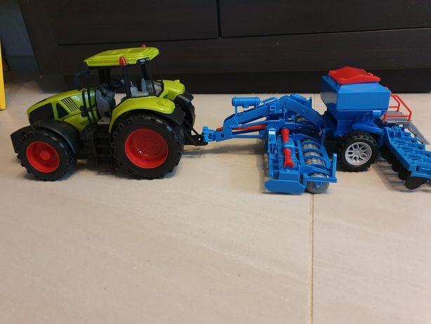 Traktor z maszynami 65cm