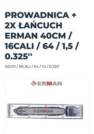 Zestaw Prowadnica Erman + 2x Łańcuch Erman Hurt/Detal