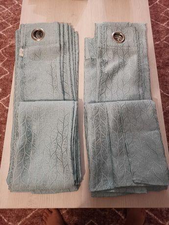 Vendo cortinados azuis NOVOS! 140X260! Descida de preço!
