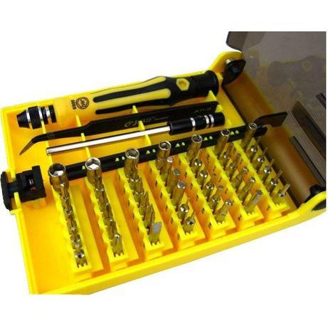 Kit ferramentas 45 em 1 para todo tipo de reparações (smartphones,etc)