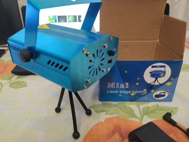 Лазер стробоскоп для дома, кафе,бара, лазерный проектор Dj King SD-09