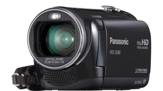Panasonic HDC-SD80 Black