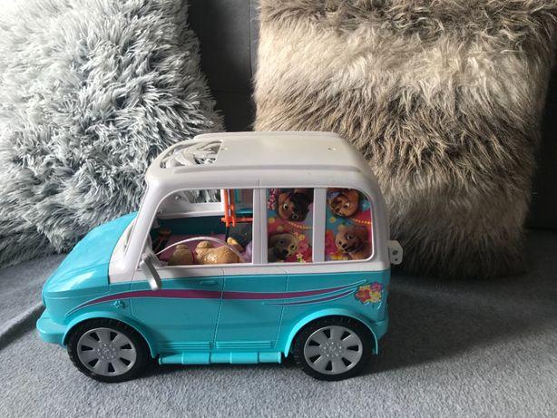 Barbie Wakacyjny Kamper Pojazd Piesków