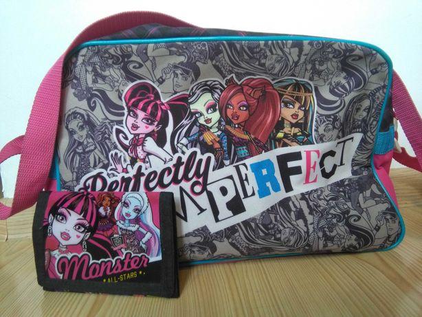 Monster High - torba i portfel