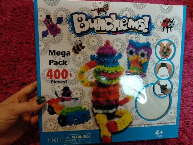 Bunchems rzepki Mega Pack 400+